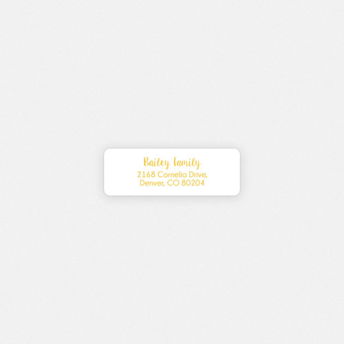 Bailey Family Pool Party Return Address Label Seal WHCC Resources - Round return address label template