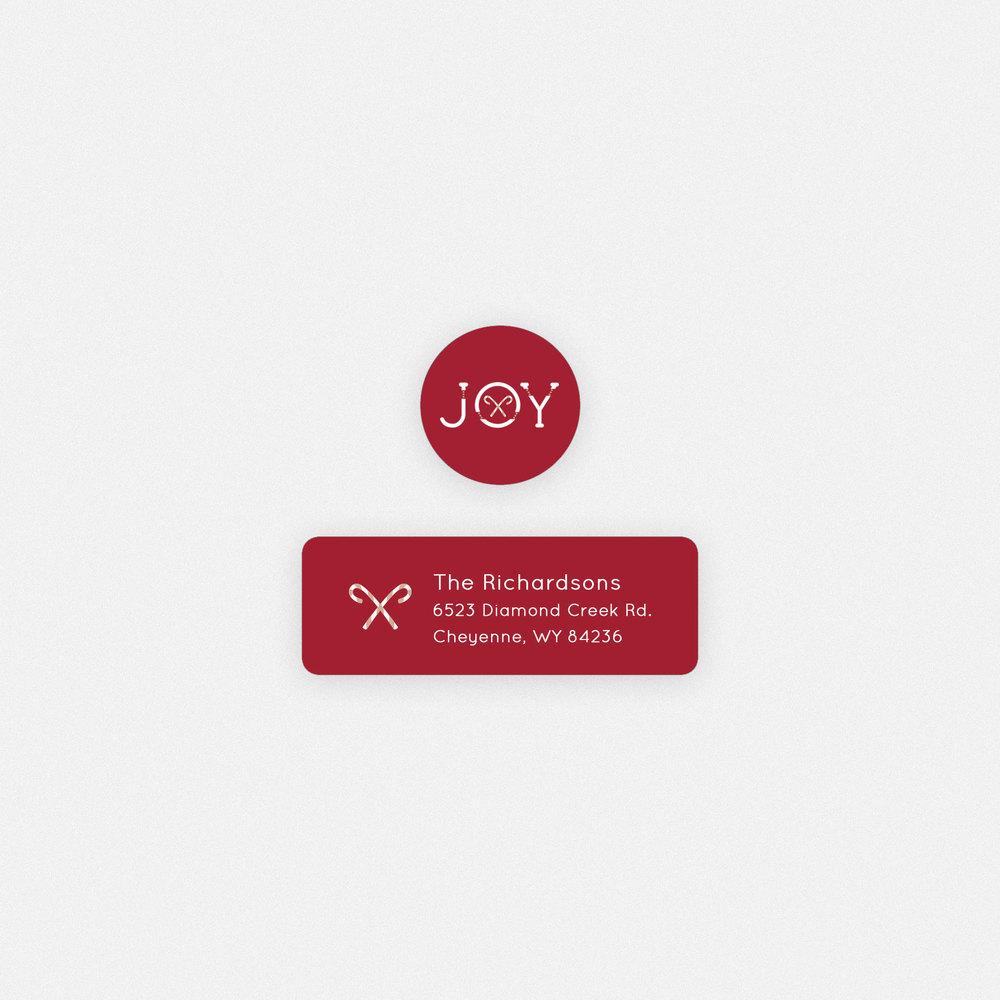 senior joy christmas address label whcc resources