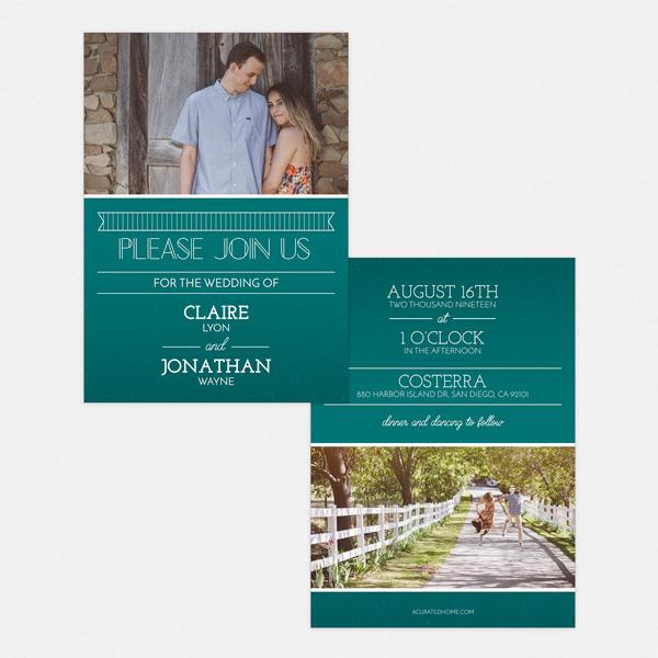 big announcement 5x7 invitation card whcc resources