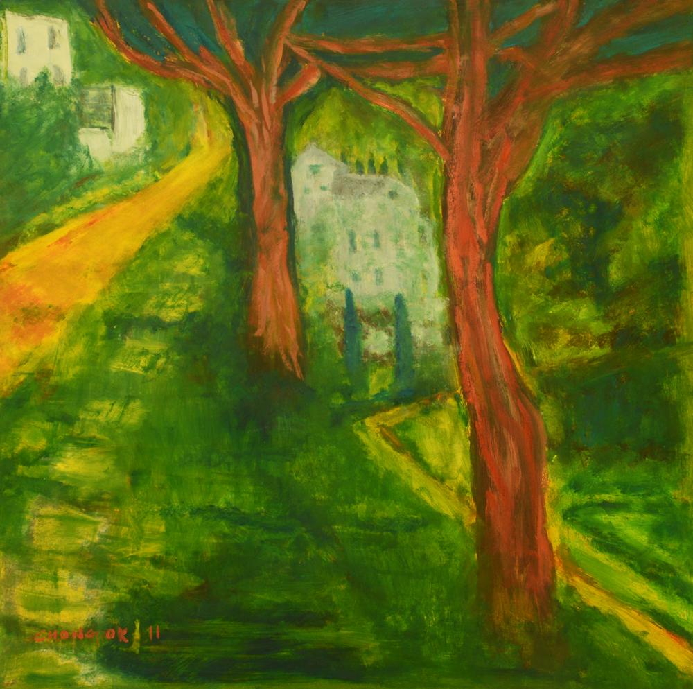 Menerbes Landscape series, 03