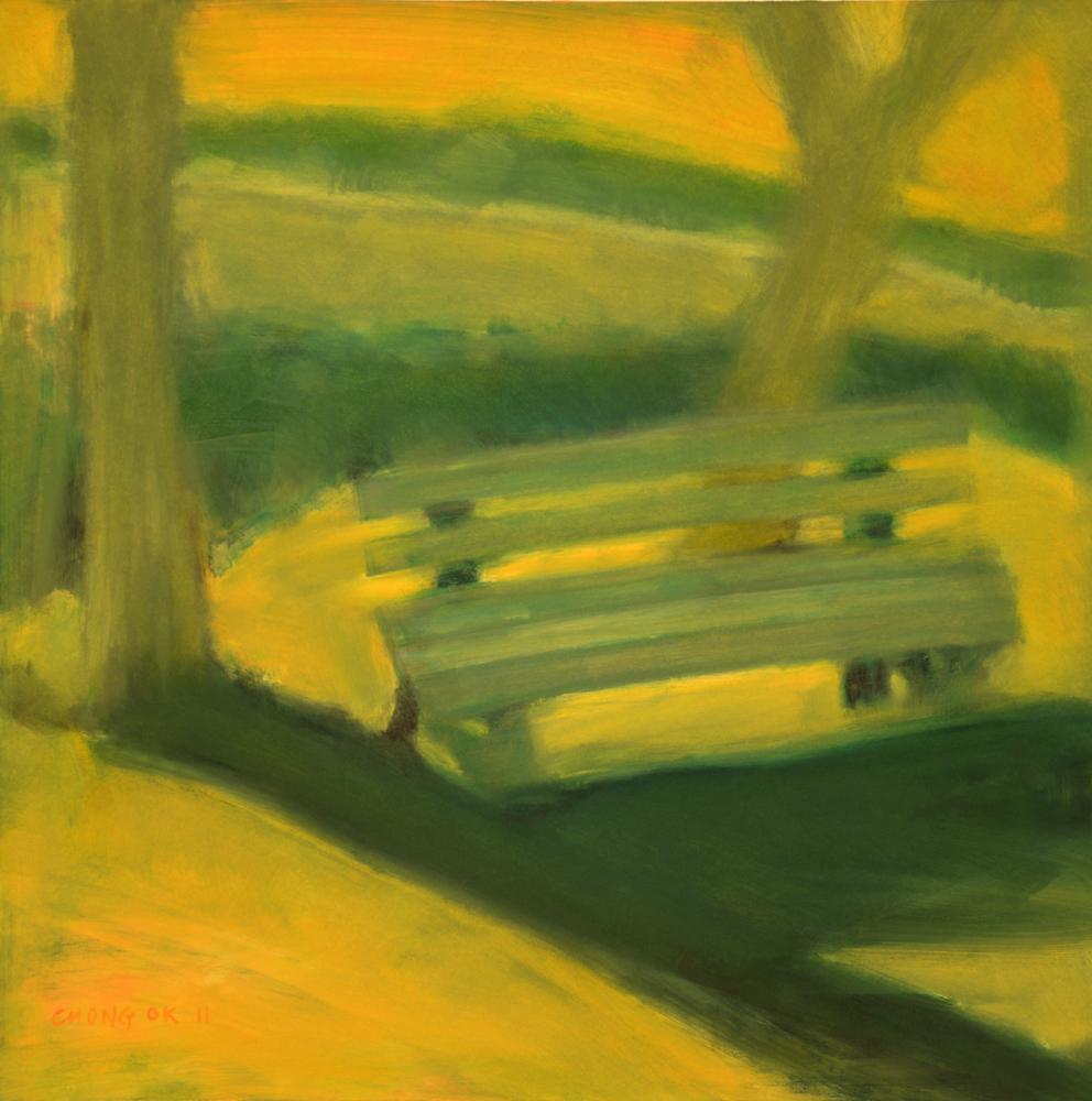Menerbes Landscape series, 07