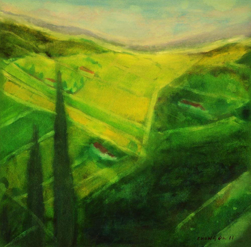 Menerbes Landscape series, 10