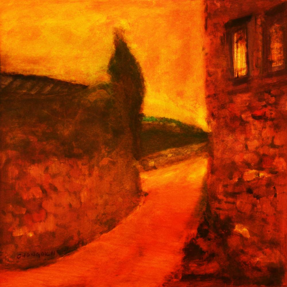 Menerbes Landscape series, 11