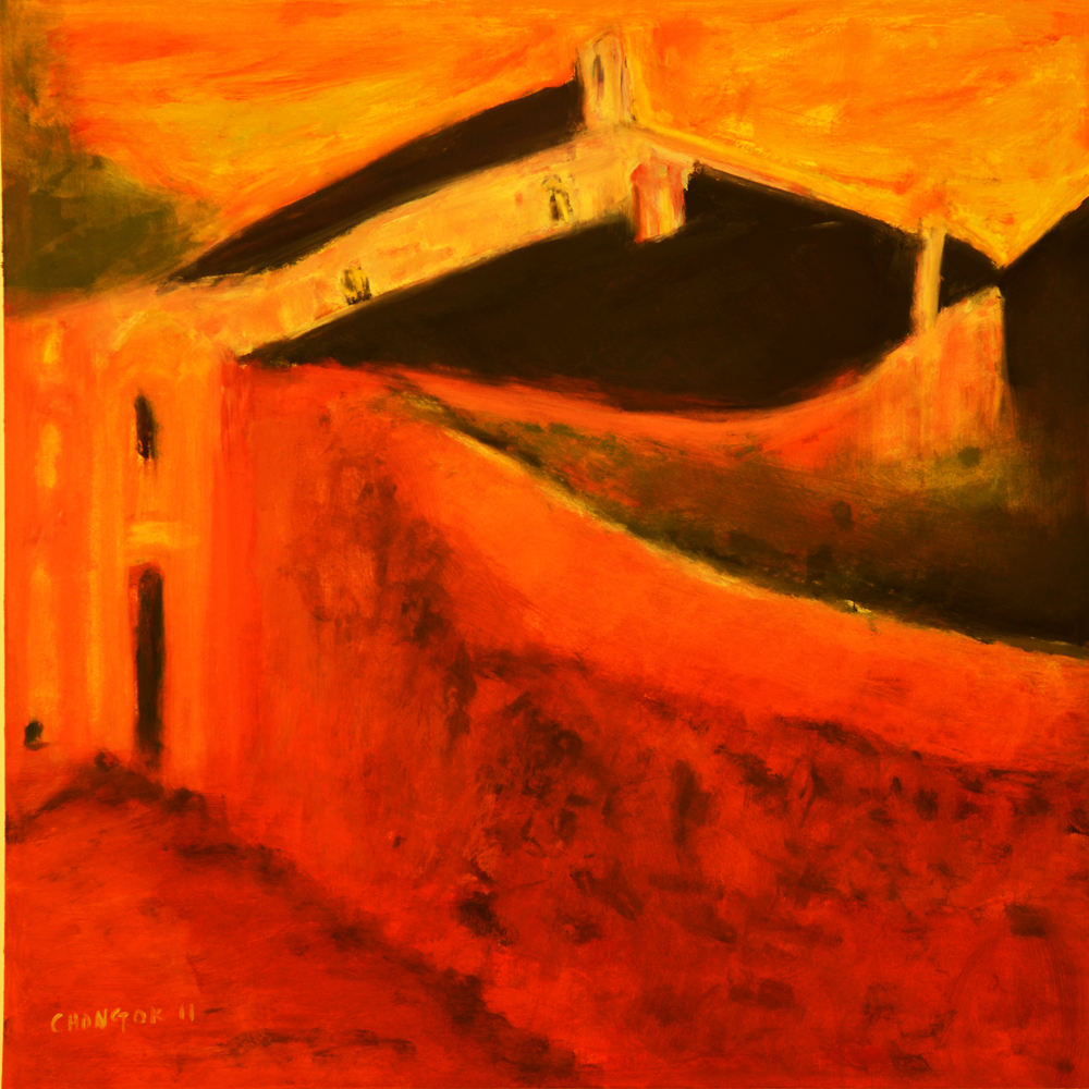 Menerbes Landscape series, 15