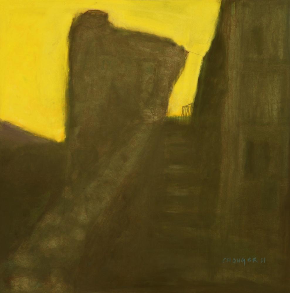 Menerbes Landscape series, 05