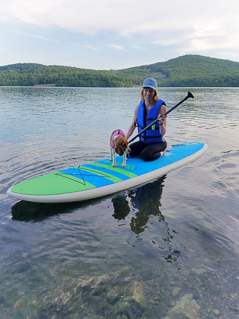 Theresa - Theresa is co-owner of Greenwood Lake Paddleboards. Theresa is a licensed acupuncturist with offices in Oakland NJ & Suffern NY. She has been practicing Yoga since she was a teenager and has been involved in the water sports industry since 2014. She currently runs all yoga programming and group events for GWL SUP.