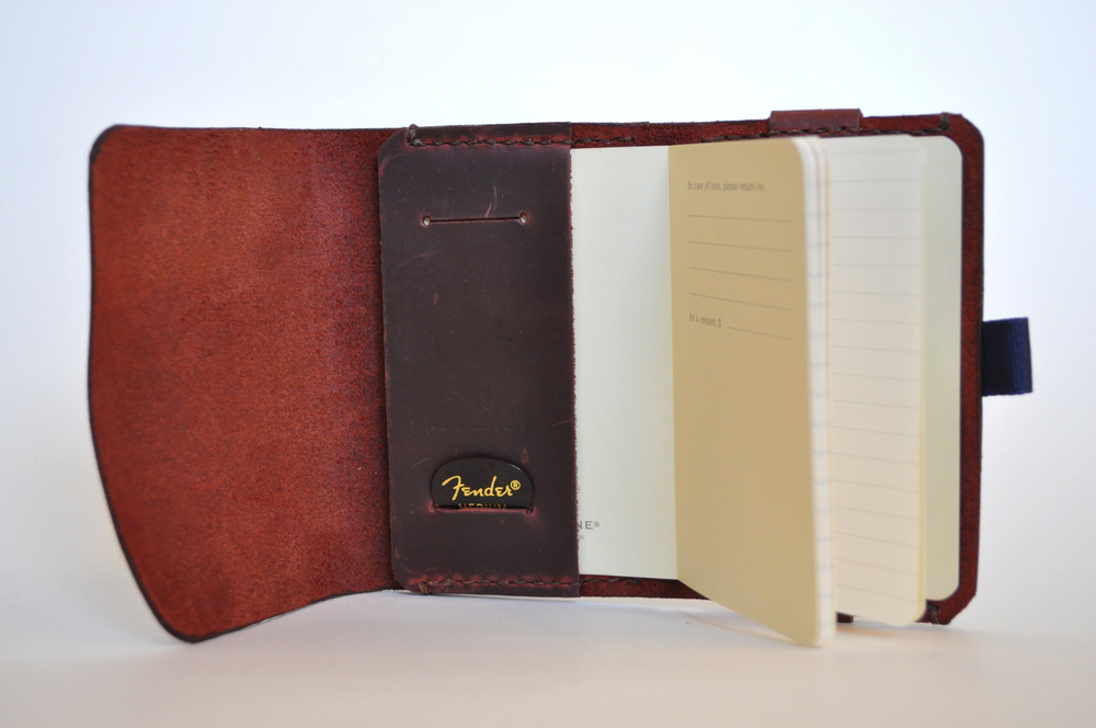 Tackett Moleskine Journal Wallet-pullup leather_open.JPG