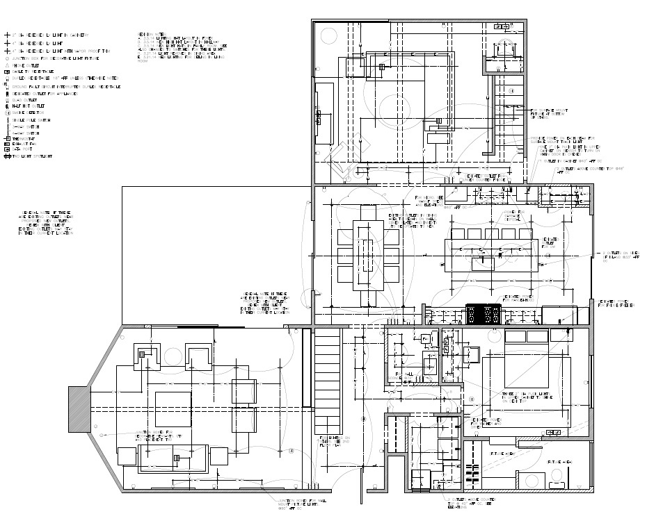 autocad examples virginia b interior design