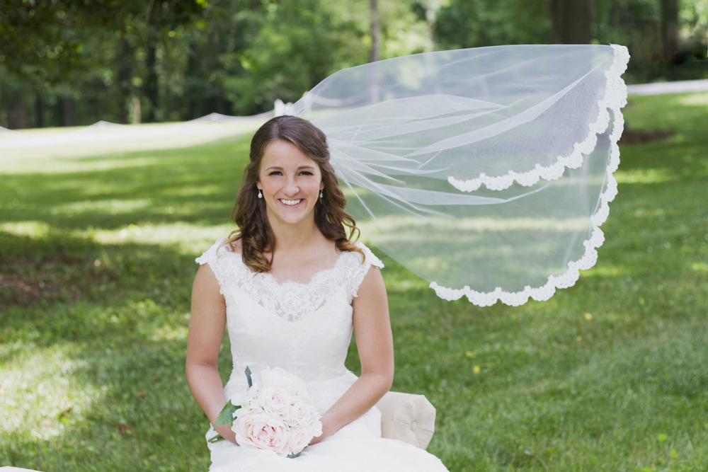Belmont Estate Reidsville Wedding and Bridal Portrait Photography