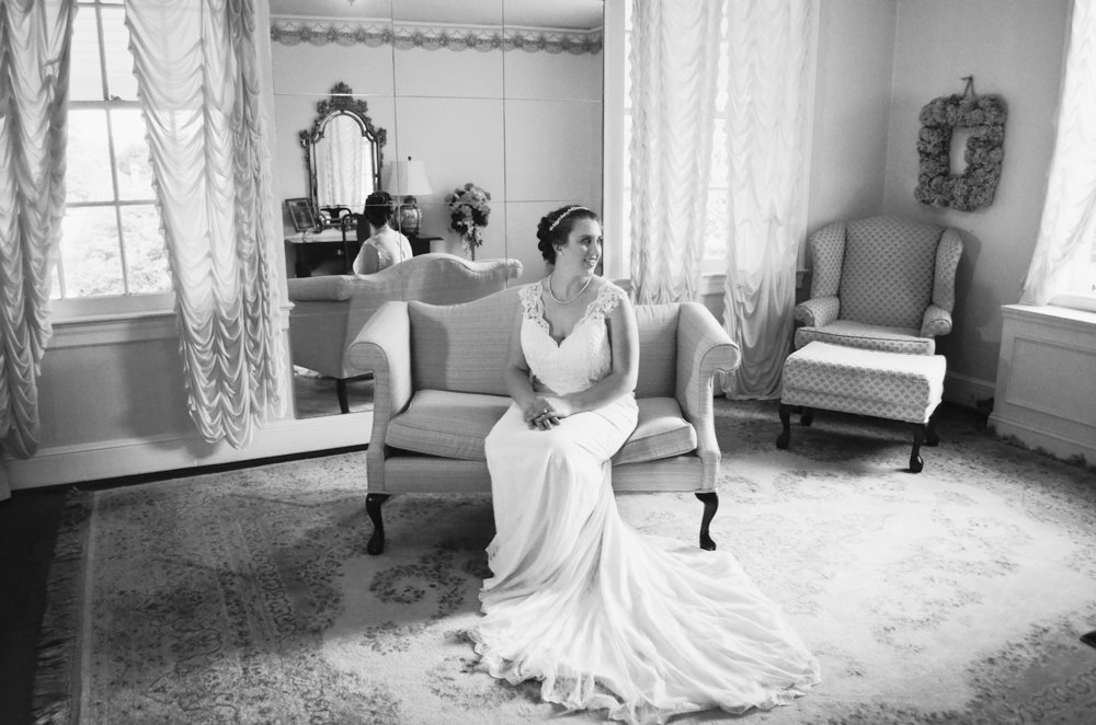 Penn House Reidsville North Carolina Wedding and Bridal Portrait