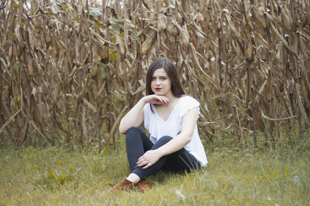 Fall Autumn Cornfield Portraits Winston Salem Greensboro