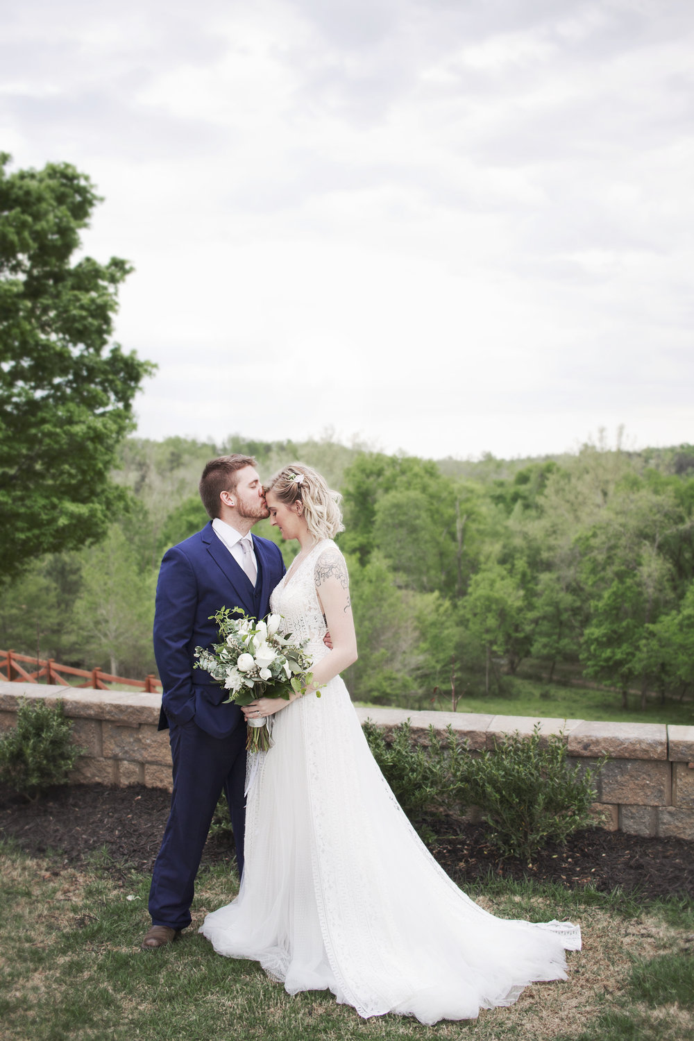 Modern Grey Tones Styled Wedding Shoot at Crooked Creek | Greensboro ...