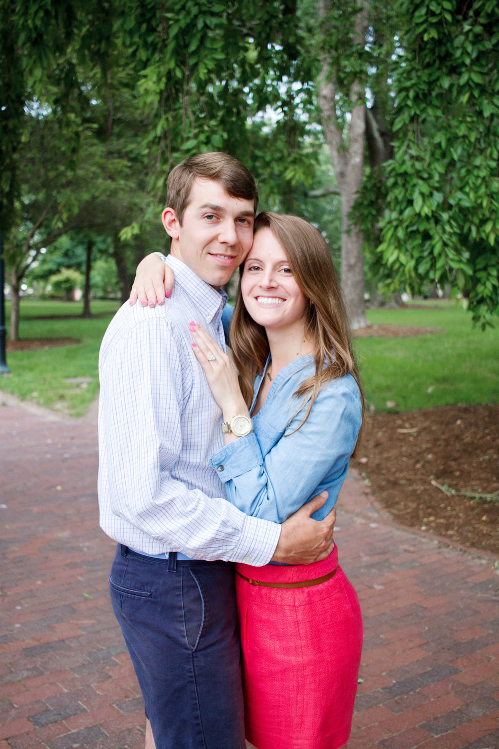 UNC Chapel Hill Engagement Session by Kayli LaFon Photography
