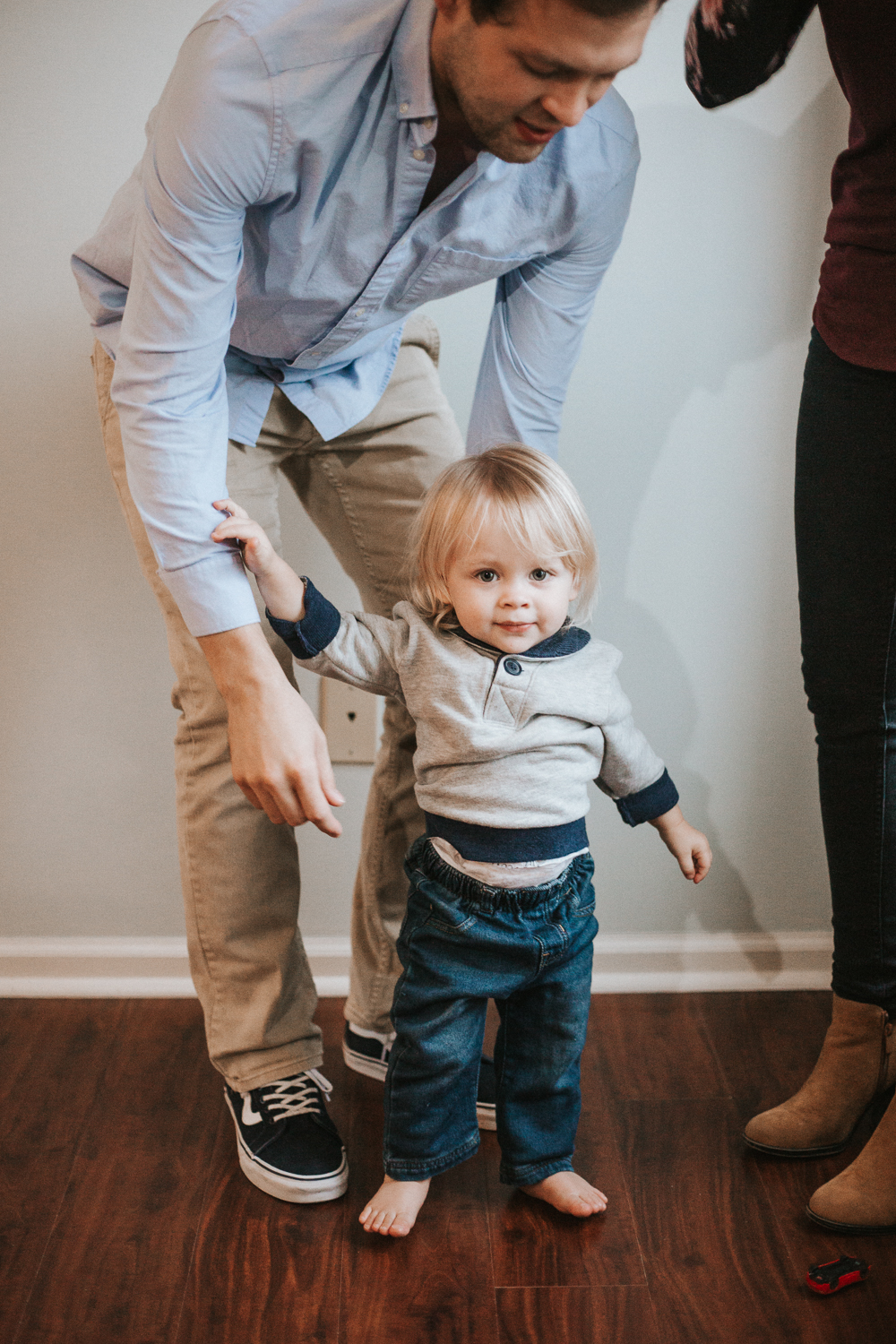 In Home Family Lifestyle Photography Session by Greensboro Winston-Salem, NC Photographer