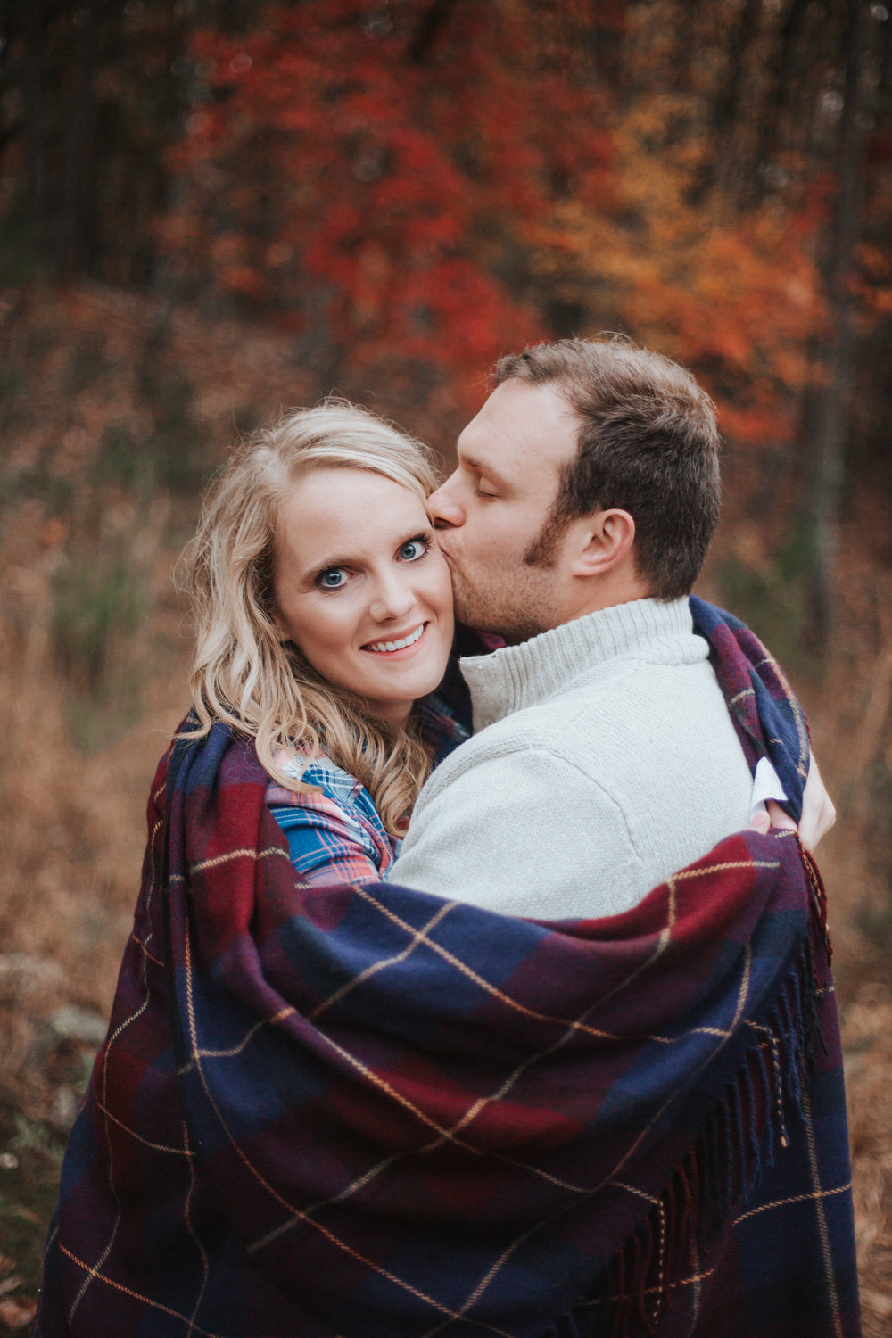 Pilot Mountain Engagement Photography Session by Greensboro Winston-Salem, NC Photographer