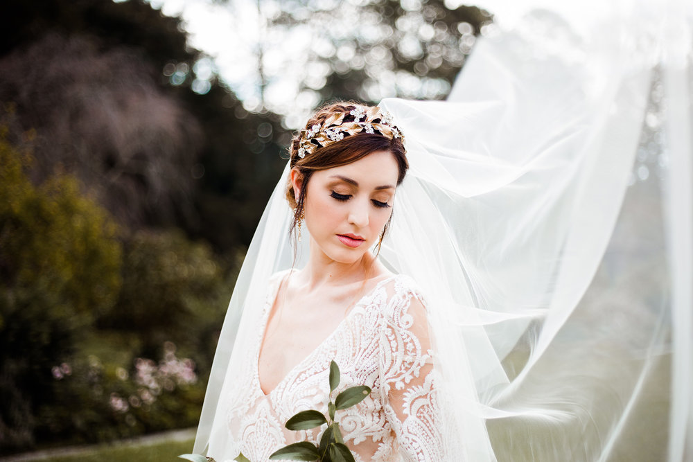 Reynolda Gardens French Styled Shoot Wedding Photography