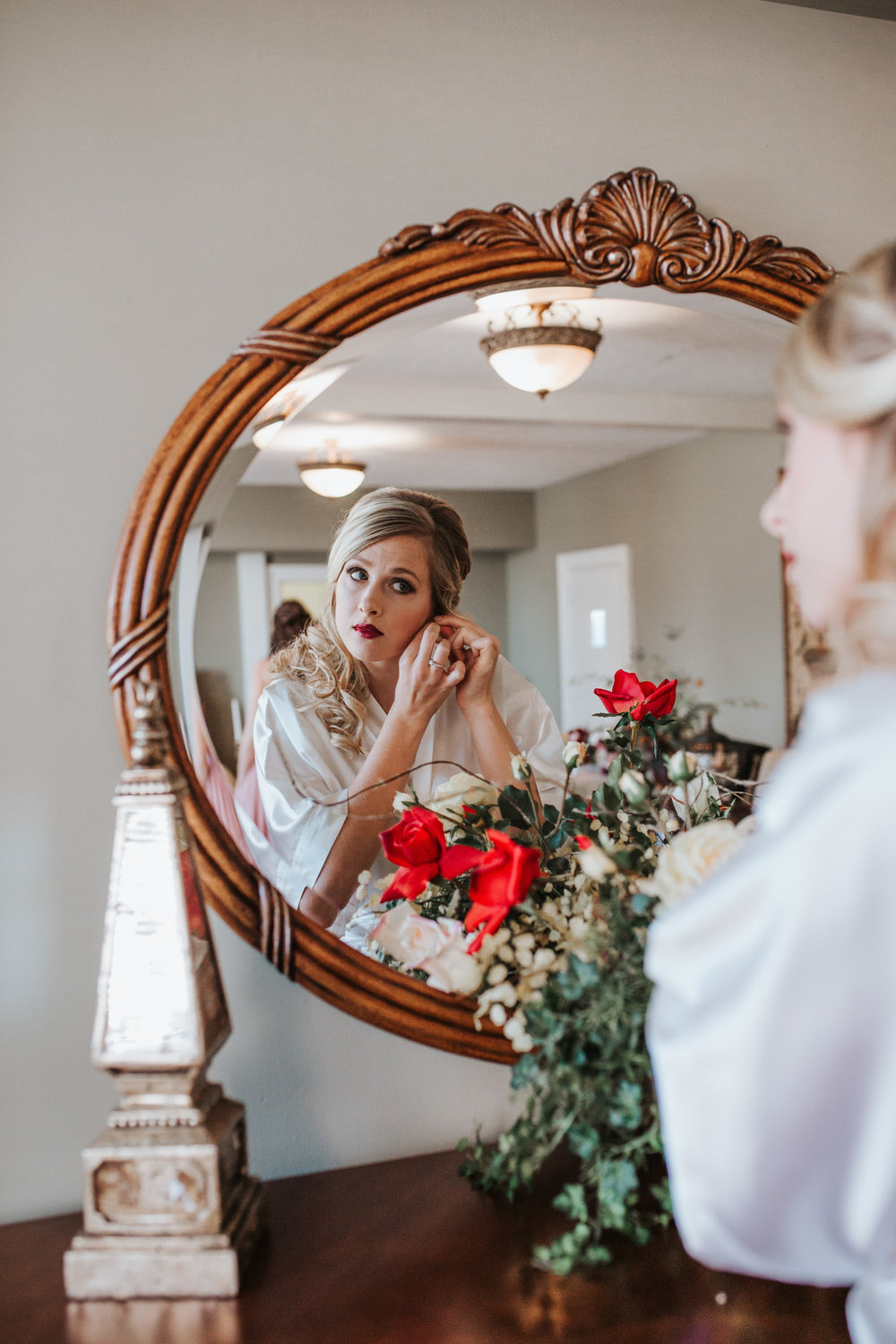 December Winter Wedding Photography by Greensboro Winston-Salem, NC Photographer