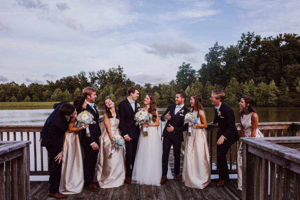 Wedding Bridal Party Portraits by Kayli LaFon Photography