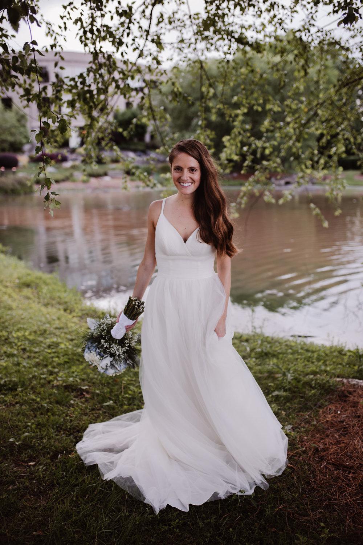 Bridal Portraits at Noah's Event Venue in High Point NC | Kayli LaFon Photography