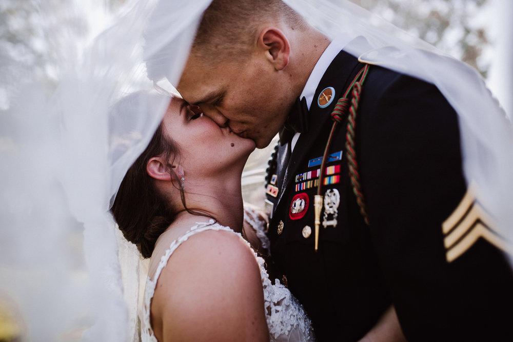 Millikan Farms Wedding, Sophia NC Bride and Groom | Kayli LaFon Photography