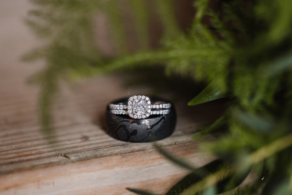 Wedding Day Details - Bride and Groom wedding bands | Kayli LaFon Photography