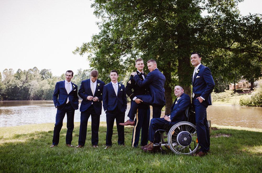 Wedding Bridal Party - Groom and Groomsmen | Kayli LaFon Photography