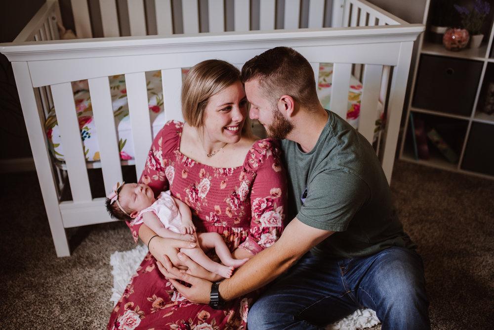 Newborn Family Lifestyle Session