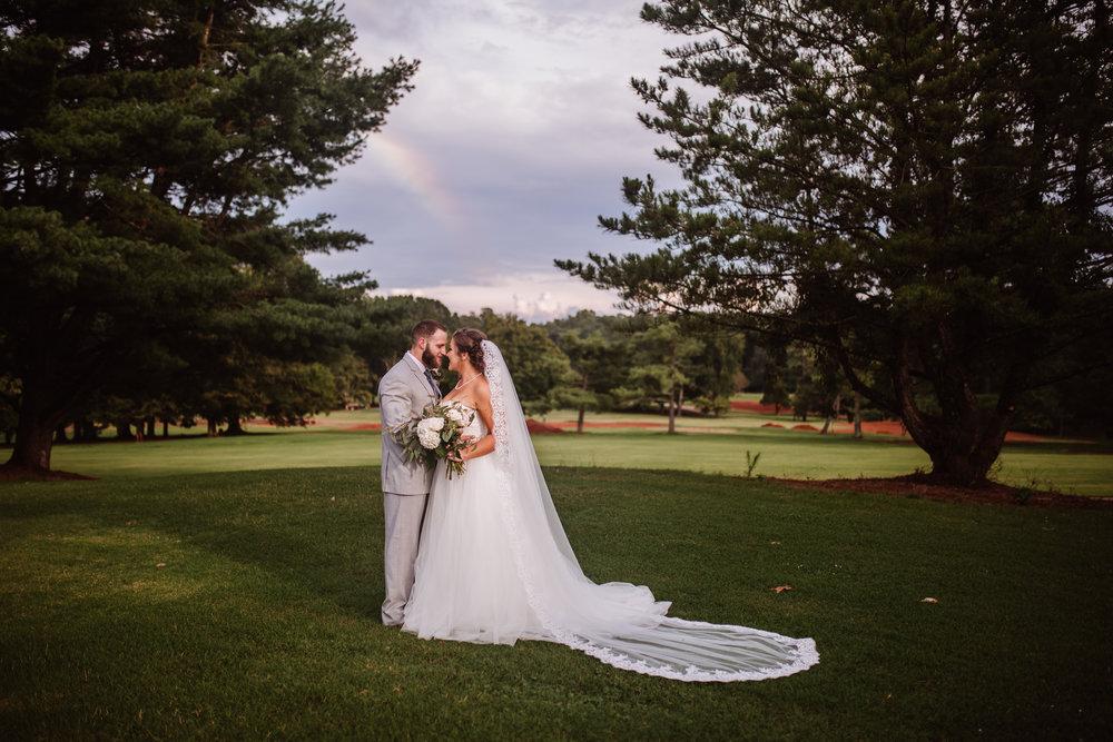 Tanglewood Wedding Reception & Photography | Greensboro Winston Salem, NC Photographer | By Kayli LaFon Photography