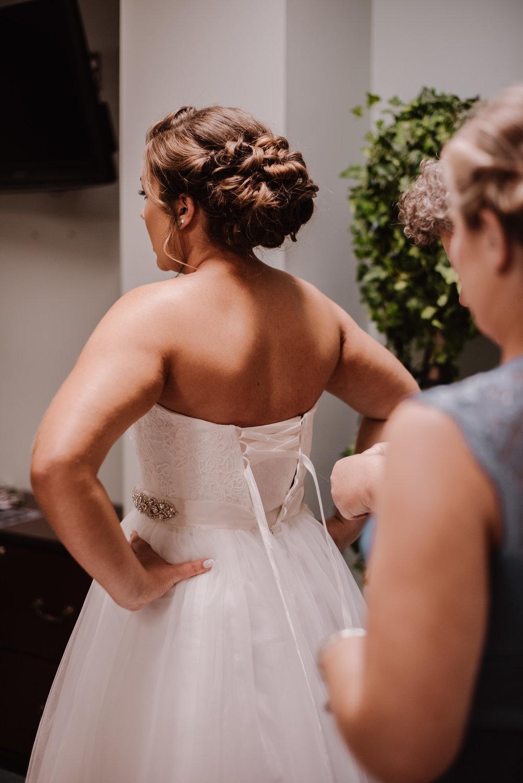 Clemmons Church Getting Ready Wedding Photography | Greensboro Winston Salem, NC Photographer | By Kayli LaFon Photography