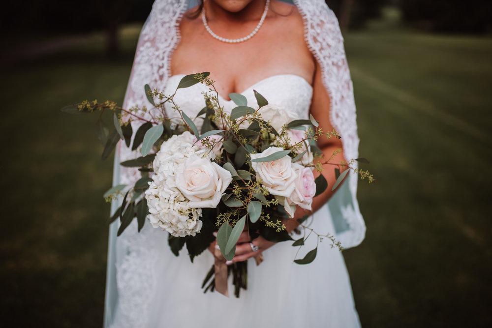 Tanglewood Bridal Party Reception & Wedding Photography | Greensboro Winston Salem, NC Photographer | By Kayli LaFon Photography
