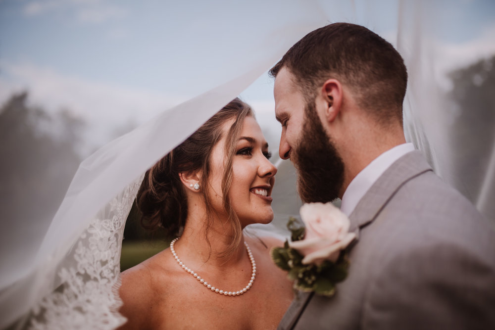 Tanglewood Bride and Groom Portraits Wedding Photography | Greensboro Winston Salem, NC Photographer | By Kayli LaFon Photography