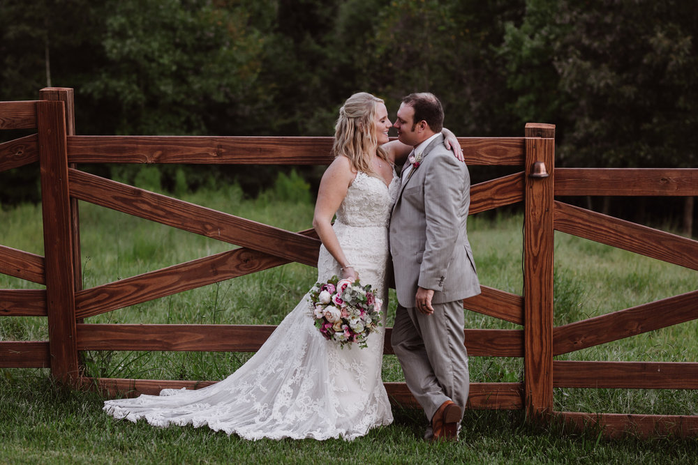 Bride and Groom portraits by Kayli LaFon Photography | Greensboro Winston-Salem, NC Wedding Photographer