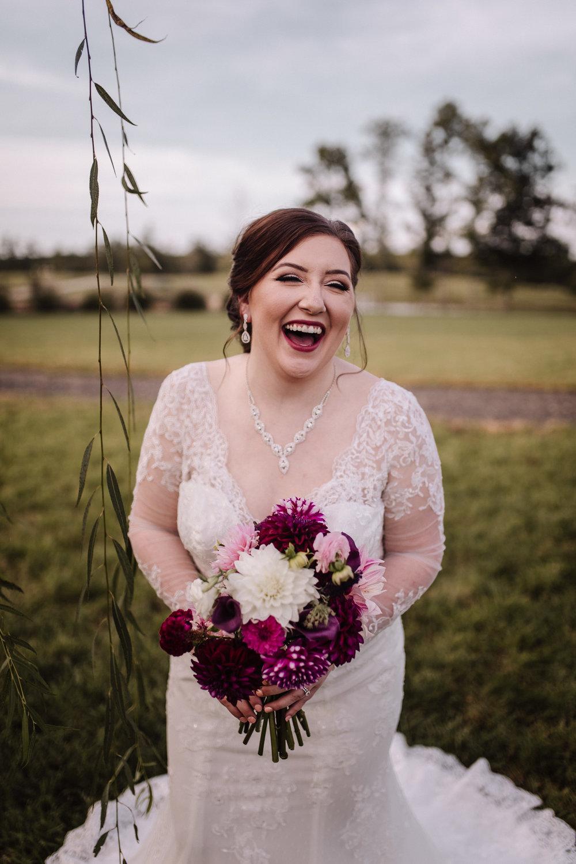 Classy, Southern, Country Wedding   Bridal portraits at Atkinson Farms in Danville, Virginia   Greensboro Winston-Salem, NC Wedding Photographer