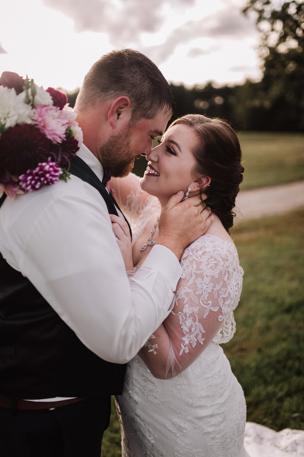 Classy, Southern, Country Wedding   Bridal and Groom portraits at Atkinson Farms in Danville, Virginia   Greensboro Winston-Salem, NC Wedding Photographer