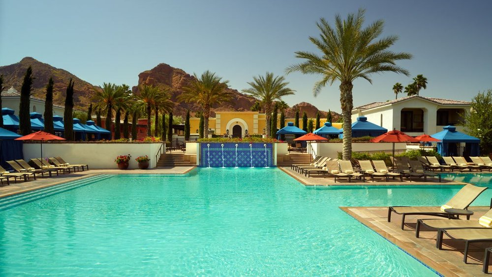 Kasbah Pool, Omni Scottsdale Resort and Spa, Scottsdale AZ