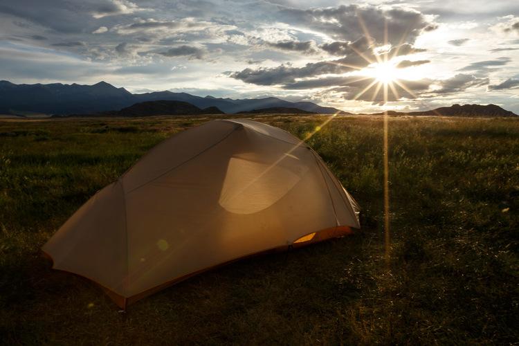 David Kingham camping