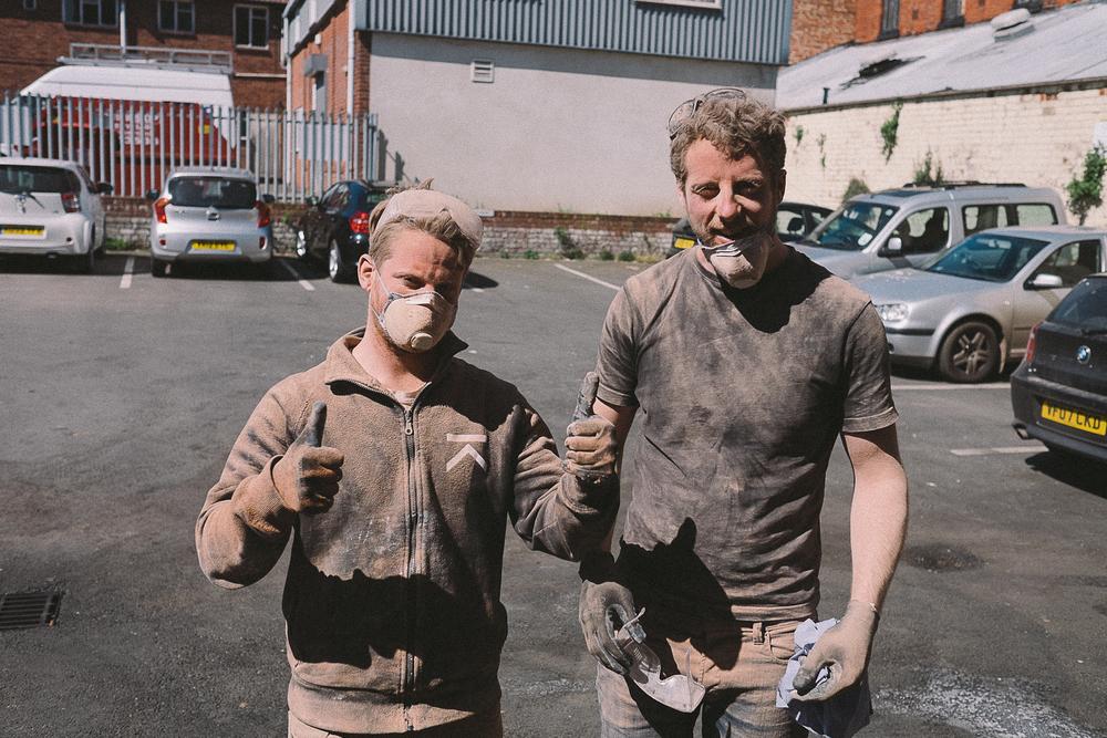 A very dusty Dorian & Edwin