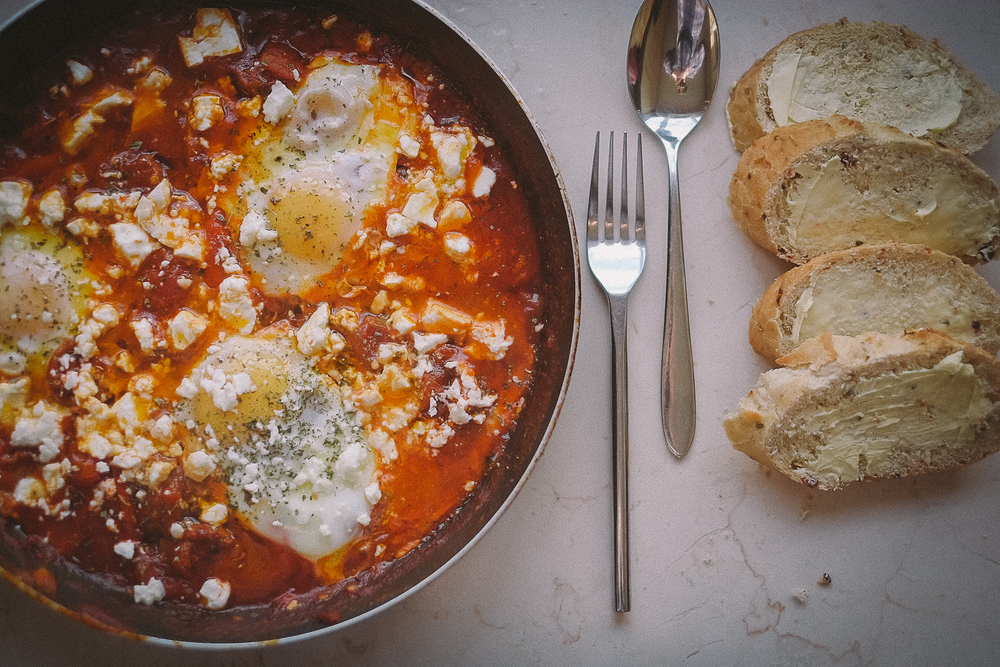 Shakshuka - The best breakfast you will ever have.