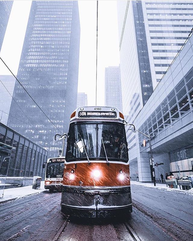 Toronto's looking mad cold, but magical! ❄️ Great shot from @tgaweco ~ Use #delvelife to be featured on this page and our website!