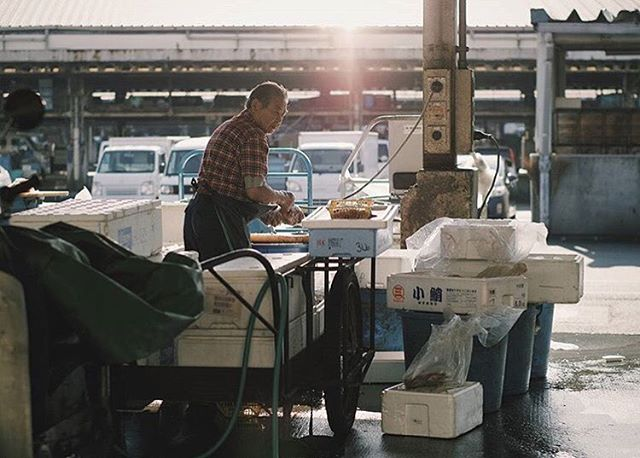 Tsukiji Fish Market, Tokyo - a magical place to visit in the early hours! Shot by @seli05 ~ Use our hashtag #delvelife to be featured!