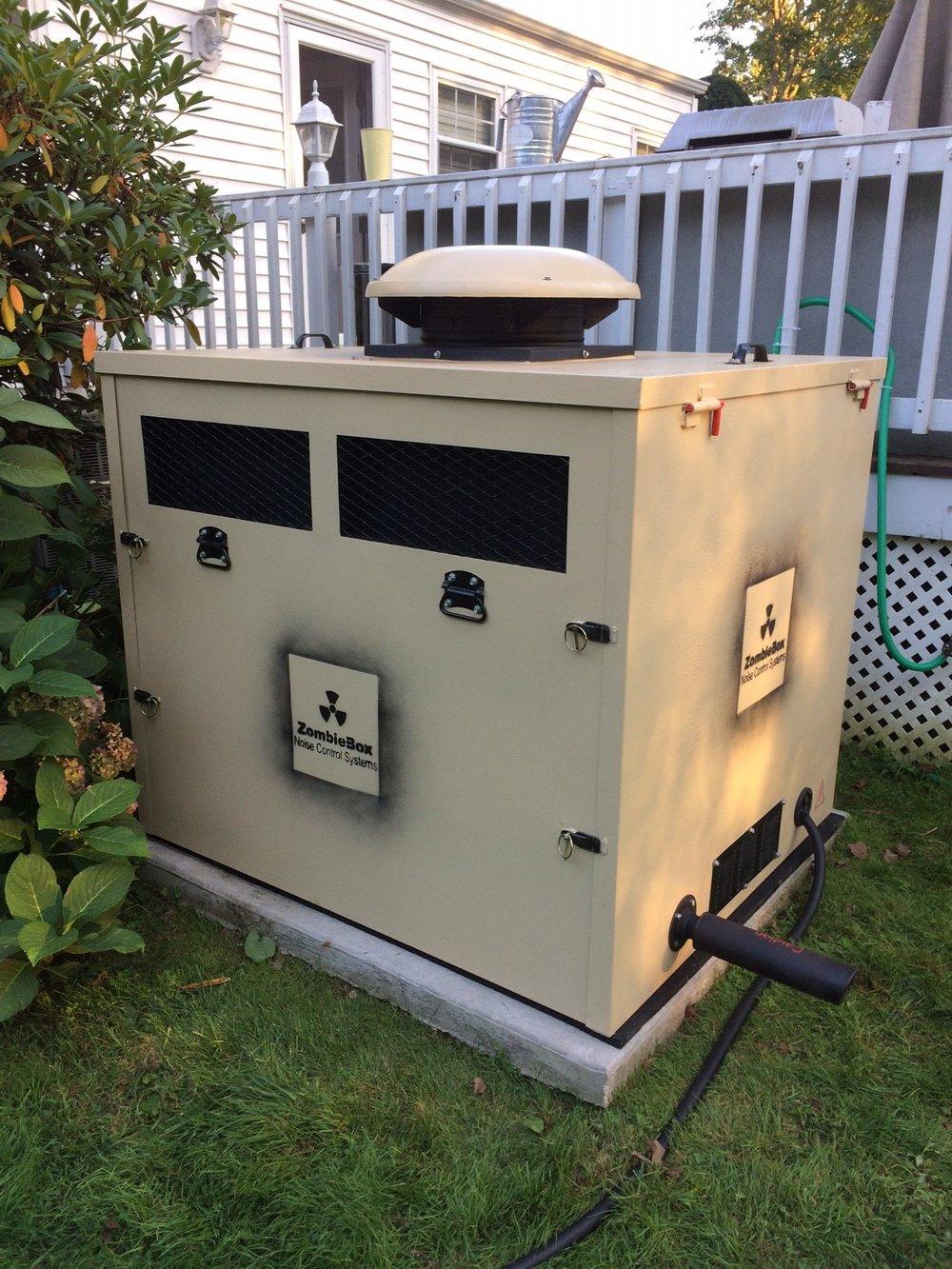 Soundproof Enclosures | Generator Sheds | Noise Panels
