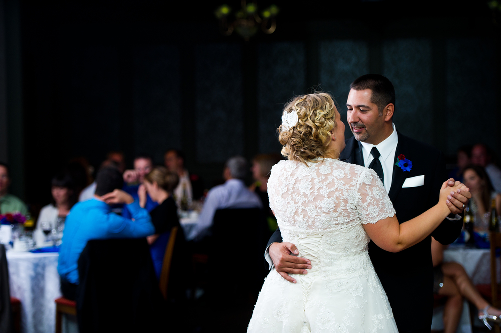 Bride and Groom First Dance at Copetown Woods Golf Club