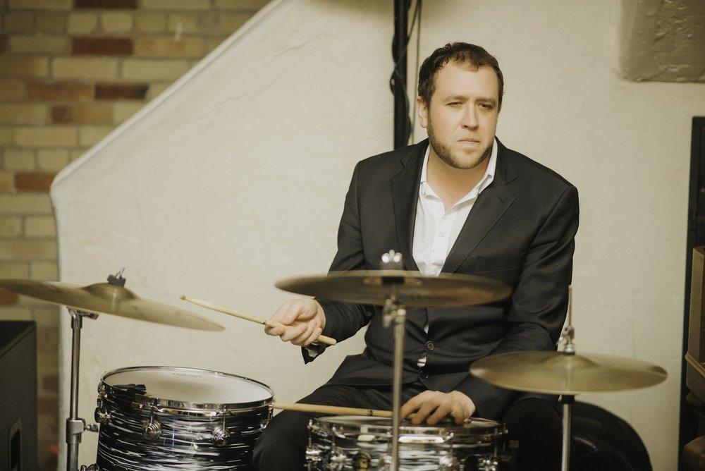 Chris Flannigan on Drums at Hacienda