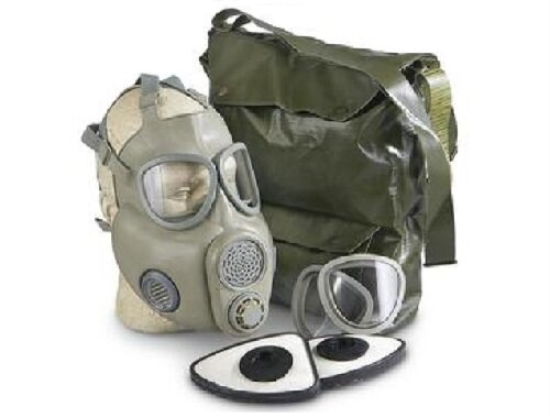 Czech M10M Gas Mask With Filter