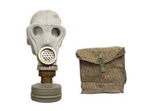 GERMAN SCHMS GAS MASK WITH FILTER