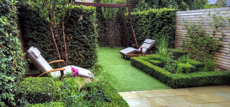 Small Family Garden HCL Garden Design