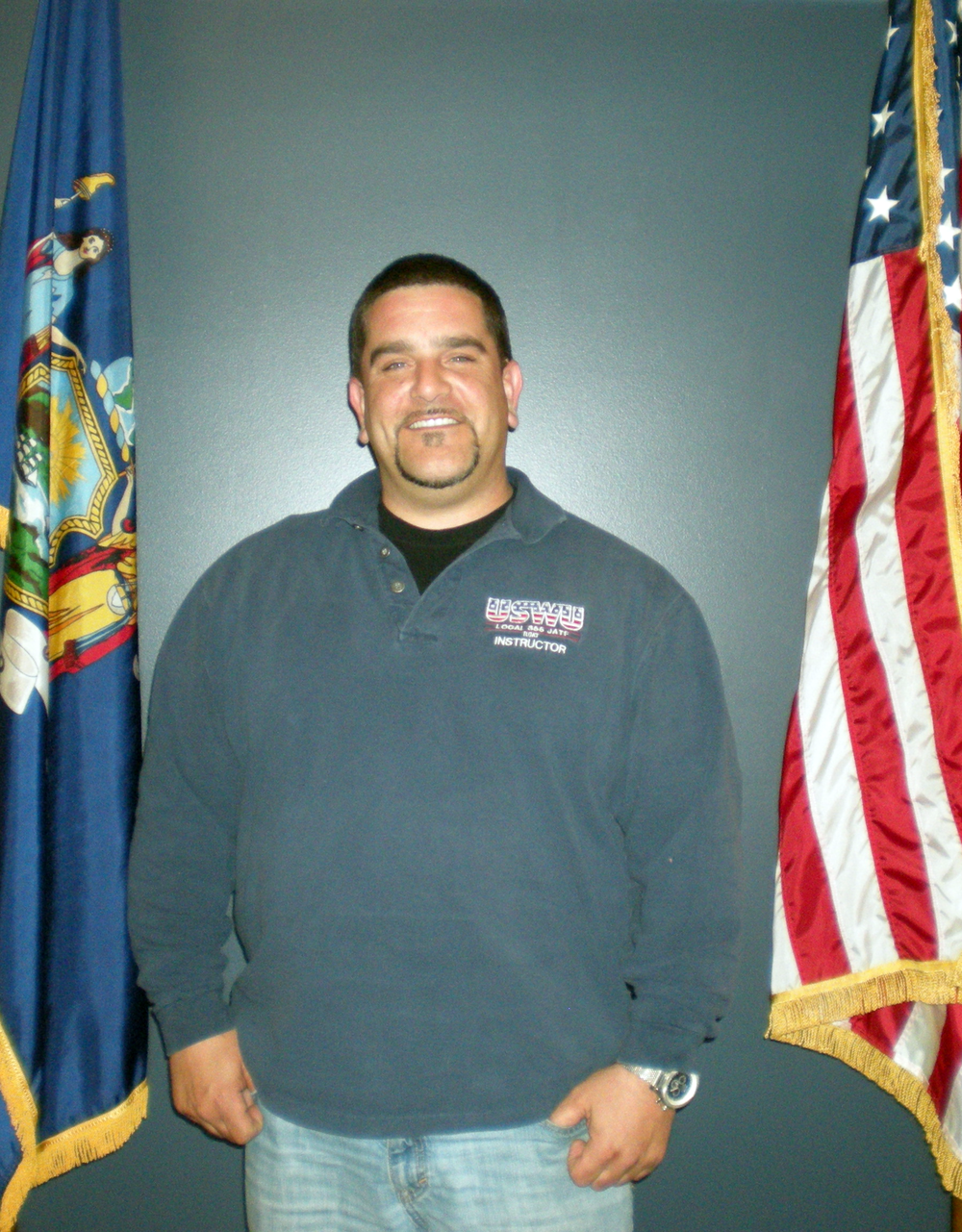 Richard Graziano, Piping-Welding Instructor