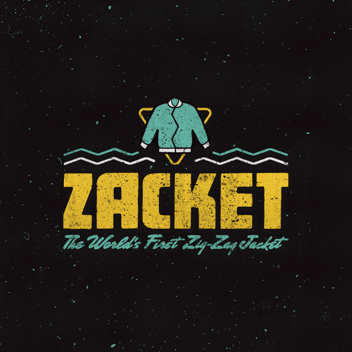 _350: Zacket, The World's First Zig-Zag Zipper Jacket