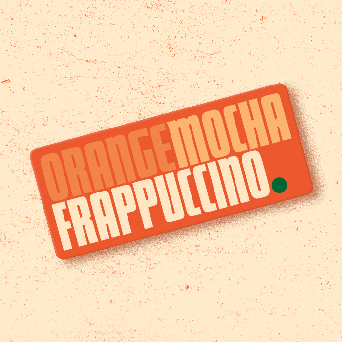 _215: Orange Mocha Frappuccinos!!!