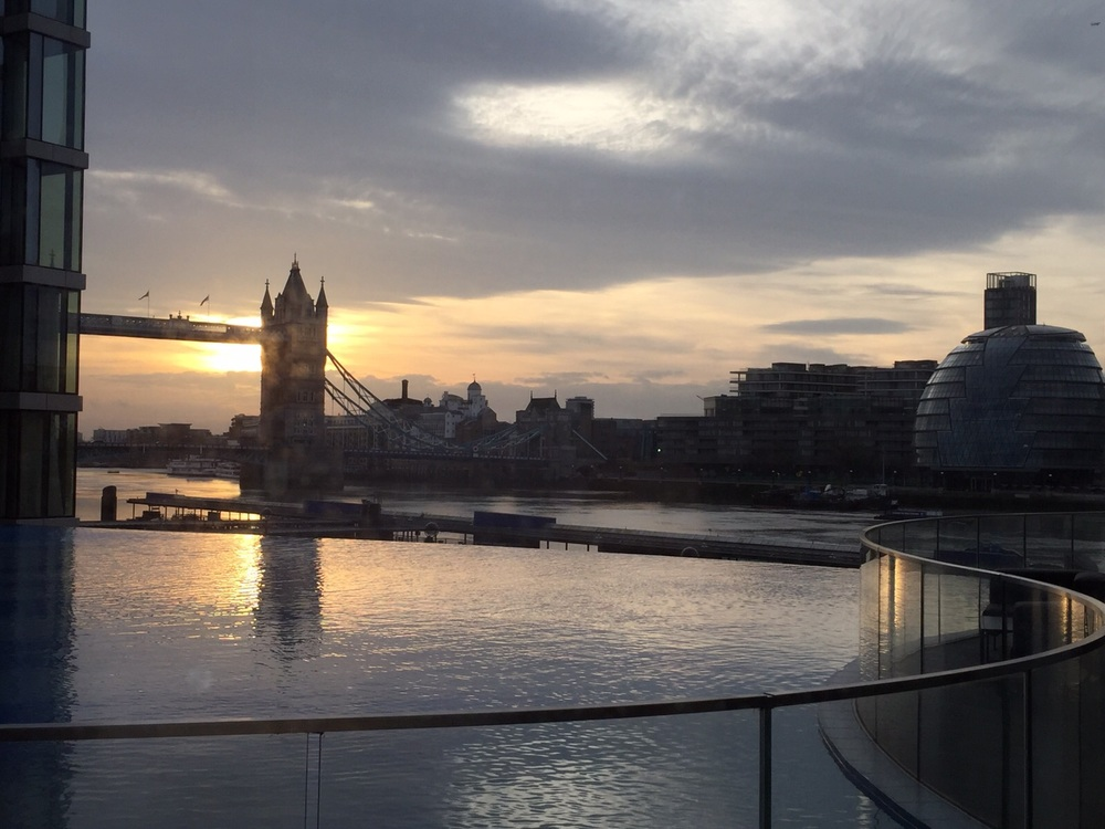 Sunset over Tower Bridge